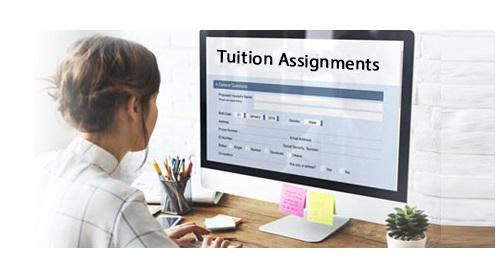 tuition assignments available
