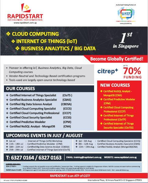 Certified Cloud Security Specialist (CCSS) • Singapore Classifieds