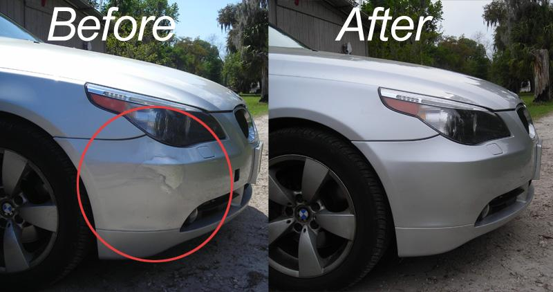 Car scratch repair cost singapore