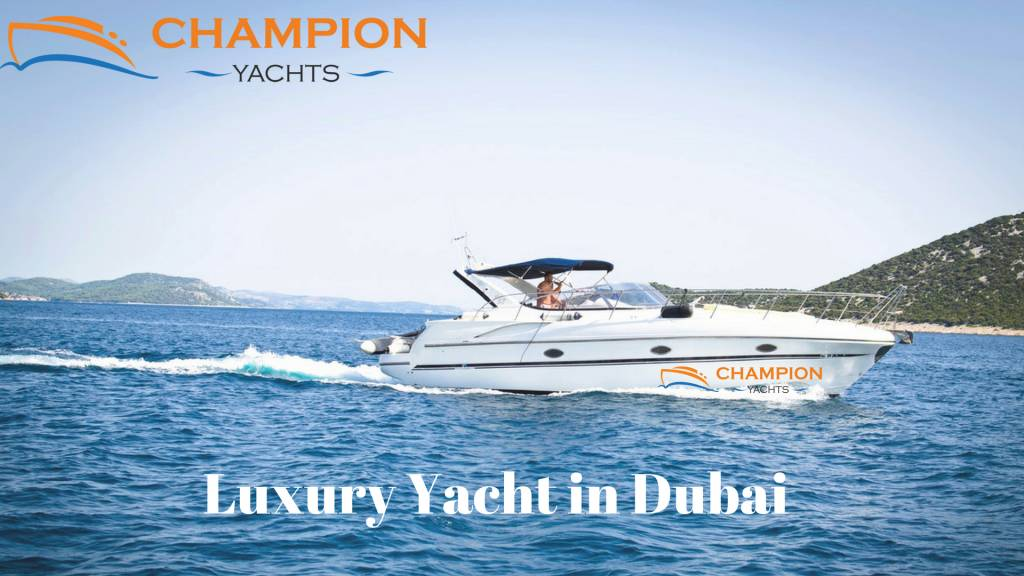 Most affordable yachts in Dubai from Champion Yachts