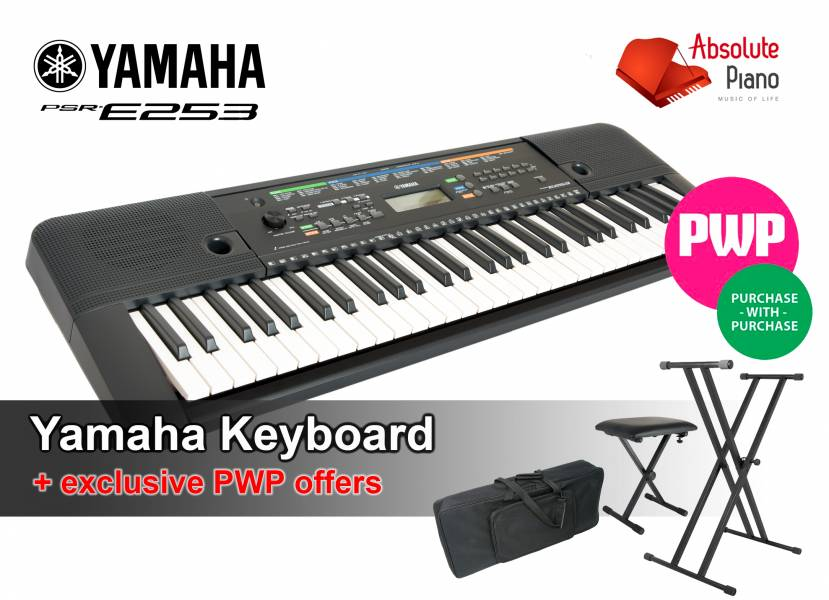 New Yamaha Psr E263 Keyboard Special Pwp Offers