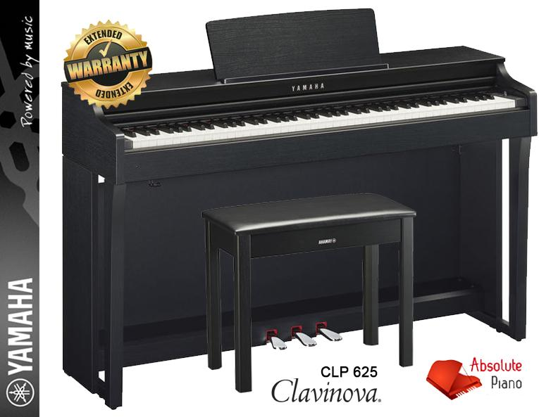 yamaha piano fair new model clavinova clp 635 digital. Black Bedroom Furniture Sets. Home Design Ideas