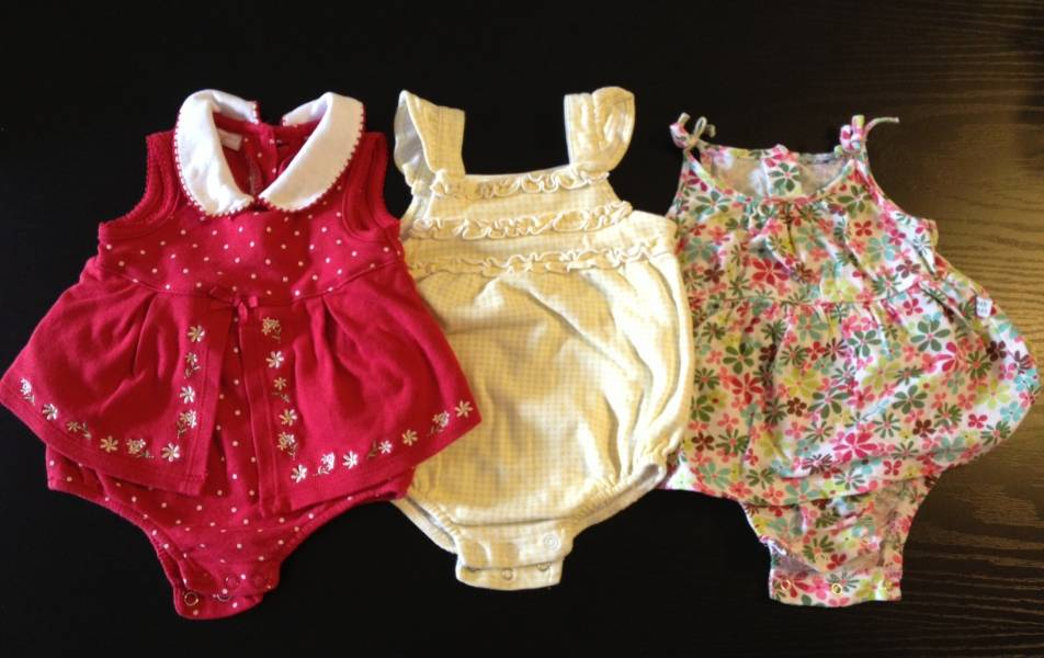 Baby Girl Clothes Newborn To 6 Months Priced To Clear Singapore