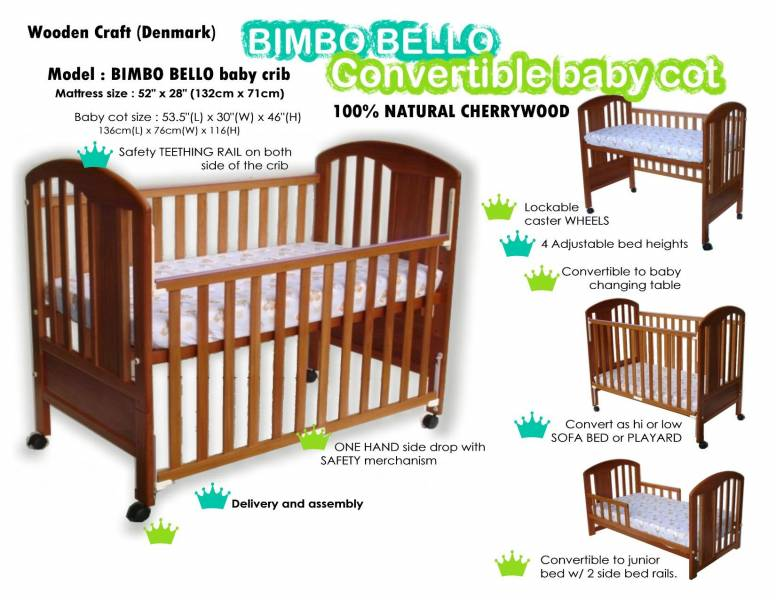 Wts Bimbo Bello Baby Cot Singapore Classifieds