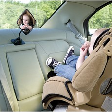 Ed Bauer Baby View Mirror Provides A Clear Of Your Rear Facing Infant With Multiple Attachment Methods Can Be Installed On The Headrest Or