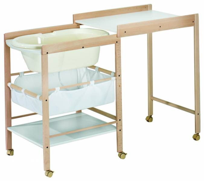 Baby combo changing table bath tub singapore classifieds for Changing table for bathroom