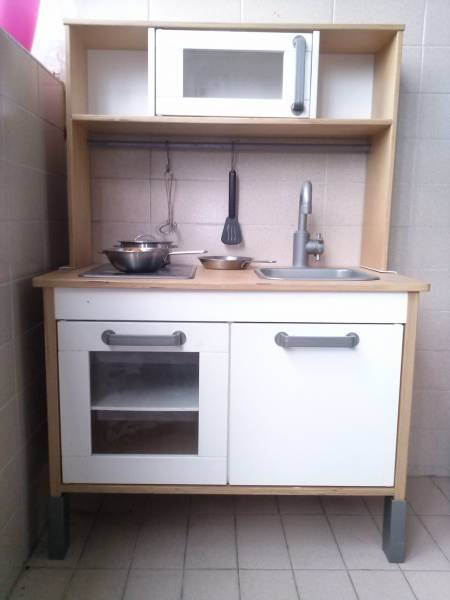 Ikea duktig wooden mini kitchen with top singapore classifieds - Ikea wooden kitchen playset ...
