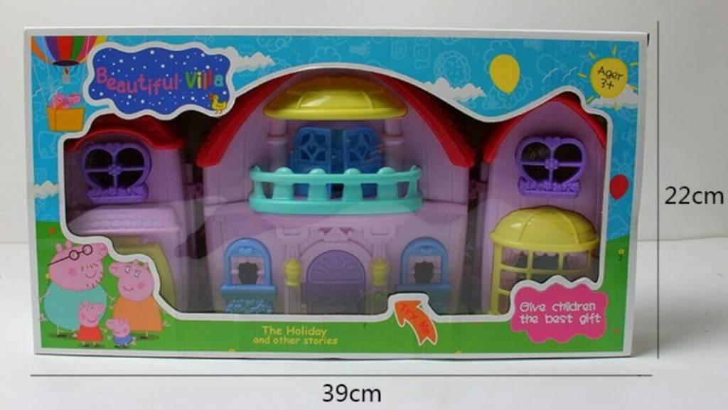 Игрушки Свинка Пеппа - набор Дом пеппы P1222