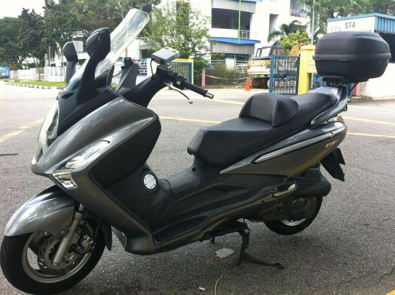 SYM GTS200 scooter - coe till Jan 2021 • Singapore Classifieds