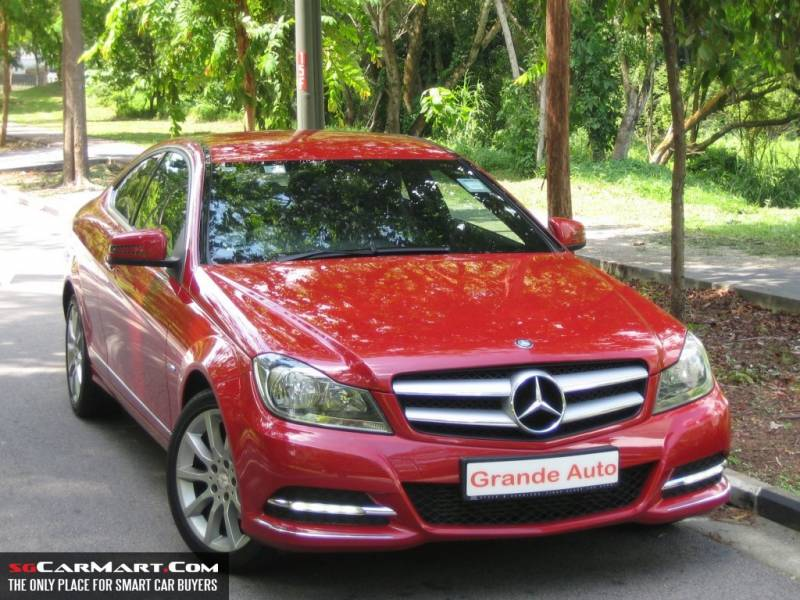 Jan 39 12 mercedes benz c180 cgi coupe singapore classifieds for Mercedes benz extended warranty price