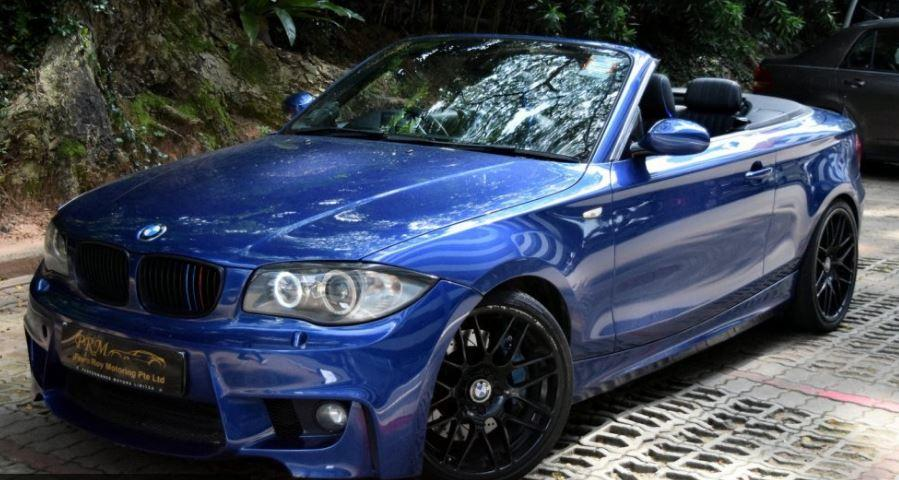 bmw 120i convertible singapore classifieds. Black Bedroom Furniture Sets. Home Design Ideas