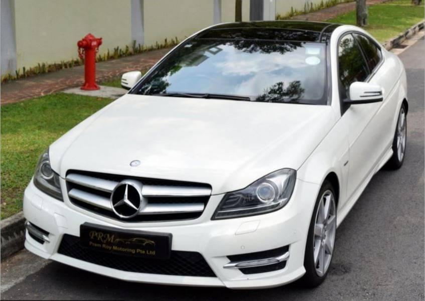 Mercedes benz c250 coupe amg sport singapore classifieds for Mercedes benz c250 amg