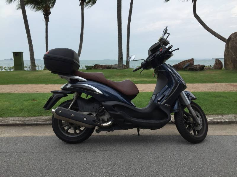 piaggio beverly 400cc scooter • singapore classifieds