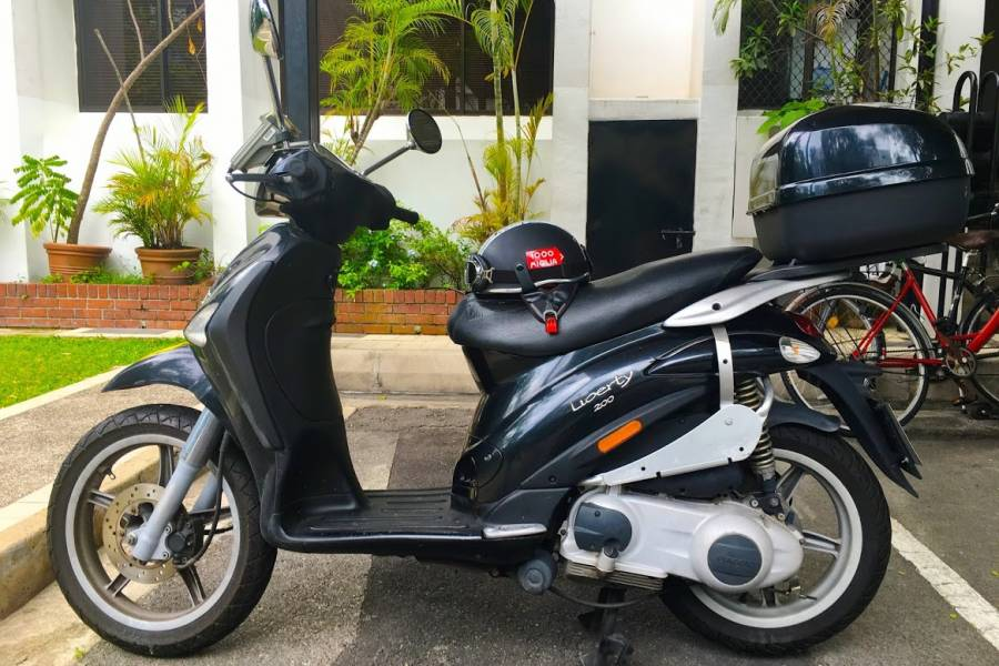 for sale piaggio liberty 200 • singapore classifieds