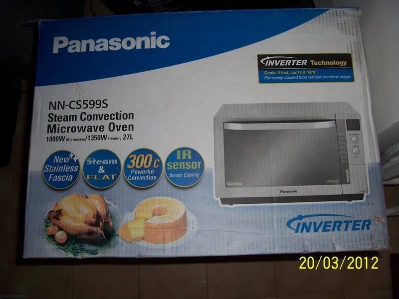 2 Months Old Panasonic Steam Convection Microwave Oven Nn