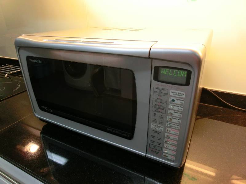 Panasonic Grill And Convection Microwave Oven Nn C784mf