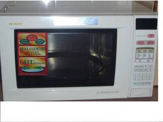 sharp microwave jet convection grill r 958 a used u2022 singapore rh classifieds singaporeexpats com sharp carousel grill 2 convection oven manual Sharp Carousel II Microwave Manual