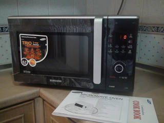 Oven With Microwave Function