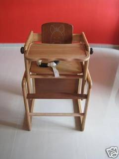 Farm Combi High Chair And Table