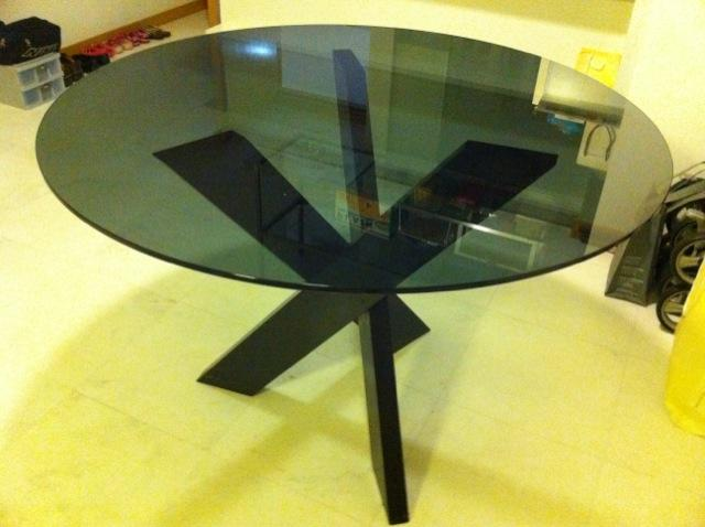 Round Glass Dining Table Singapore Classifieds