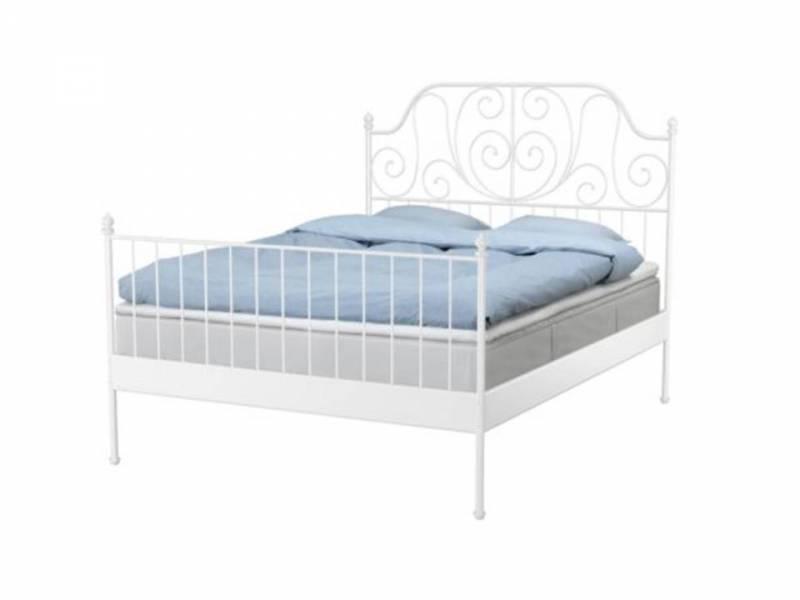 Ikea Queen Size Bed Frame Leirvik Free Transport