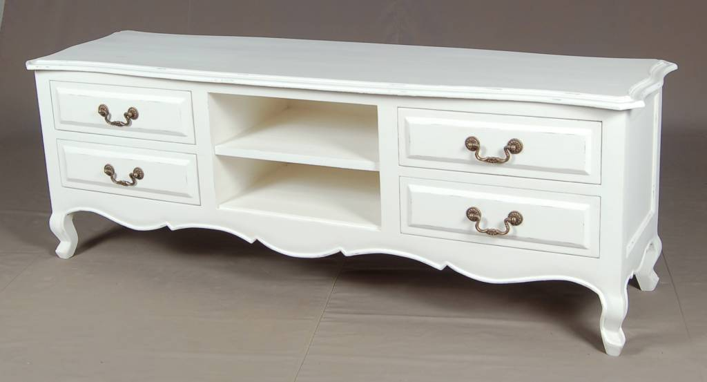French Tv Console Entertainment Unit Sideboard Cabinet Rack Cupboard Furniture Singapore