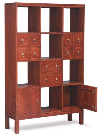 BRAND NEW Teak Bookcase Bookshelves With Drawers Doors Bookshelf Furniture Singapore Warehouse Factory Outlet Sale