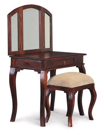 Wooden Furniture Design Dressing Table : teak wood furniture singapore, teak vanity table, teak dressing table ...