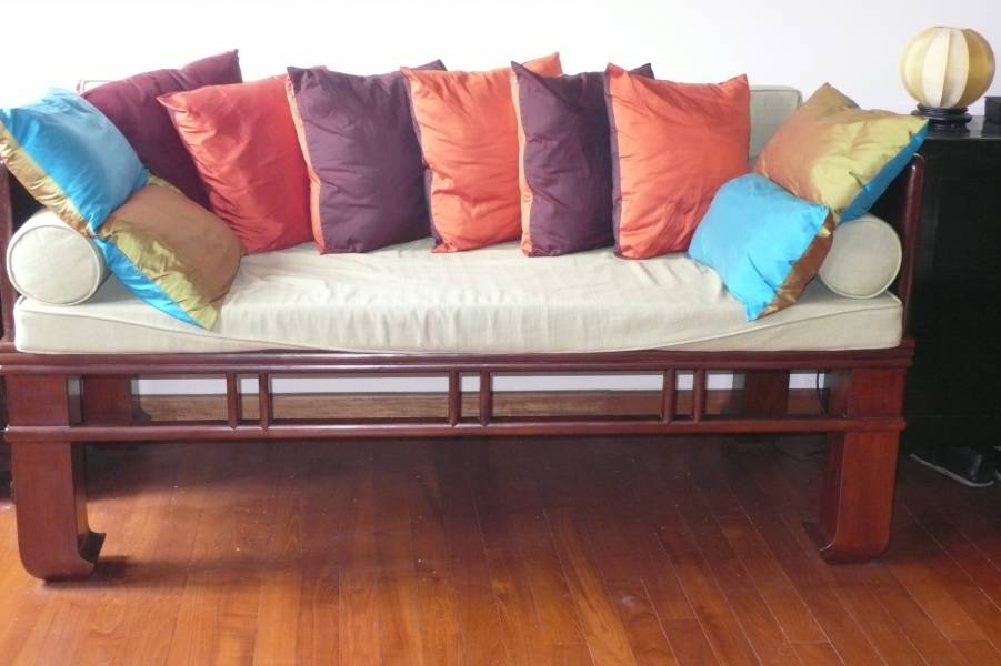 Chinese elm wood day bed singapore classifieds - Bed elm massief ...