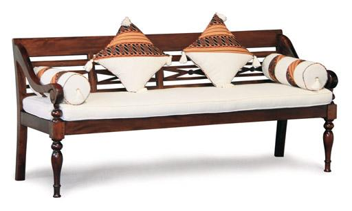 Teak Daybed With Mattress And Drawers, Sofa Bed, Teak Chaise
