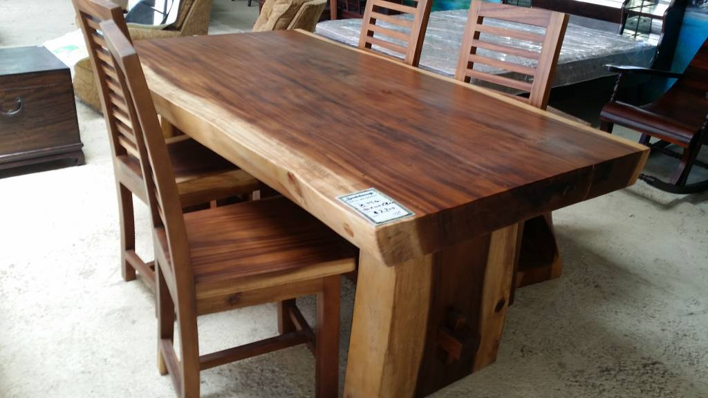 Suar Dining Tables Singapore Classifieds - Indonesian teak dining table