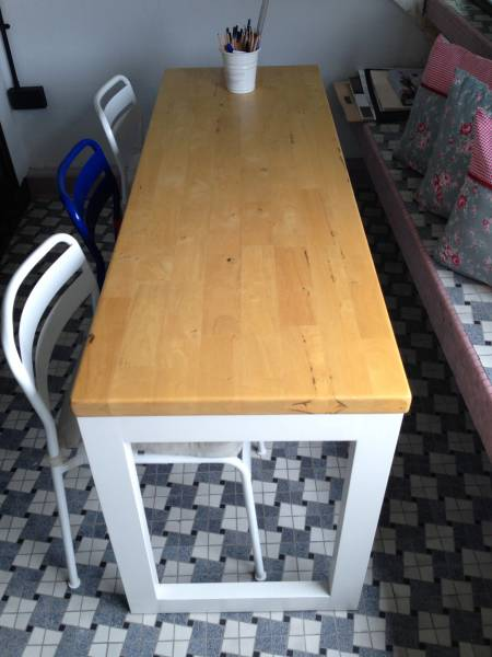 Butcher Block Dining Table Grafunkt Study Tabs O Singapore Classifieds