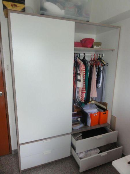 ikea trysil spaceous wardrobe singapore classifieds. Black Bedroom Furniture Sets. Home Design Ideas
