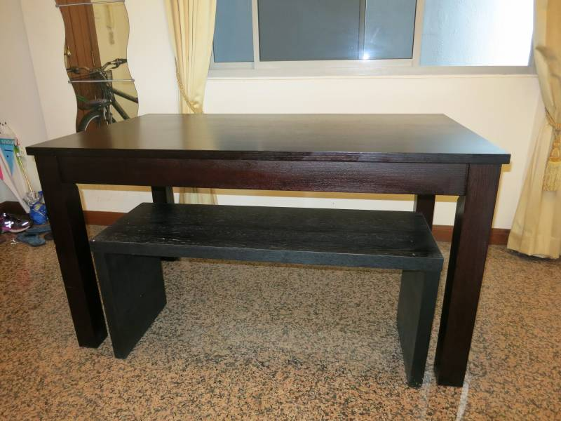 Wooden Furniture Dining Table Bench Side Drawer Cabinet And Coffee O Singapore Classifieds