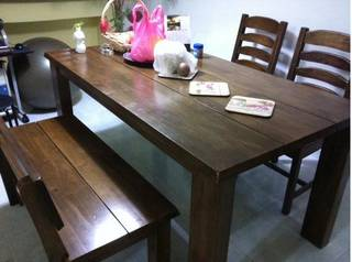 Picket Rail Americano Dining Table O Singapore Classifieds