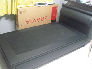 Super Single Storage Bed Frame With Free Mattress Singapore