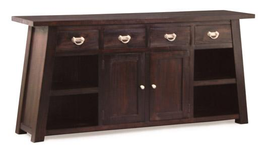 Japan Style Furniture Singapore, teak japanese design buffet sideboard, japanese style tv
