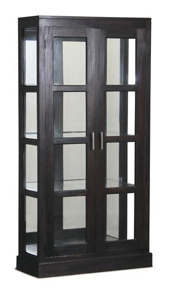 Brand New Teak Glass Display Cabinet Teak Glass Cabinet With Glass