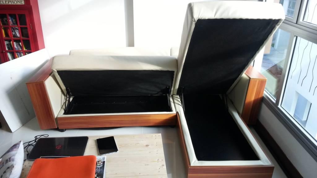 Sofa With Storage Compartments Singapore Thecreativescientist Com