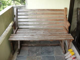 Rosewood Outdoor Bench Cum Picnic Table Singapore Classifieds