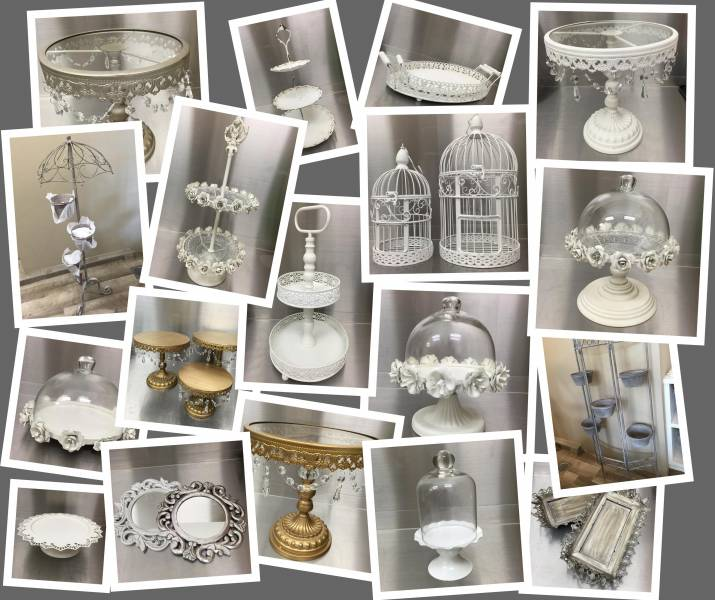 Retail Or Wholesale Vintage Cakestands Serving Trays Tableware