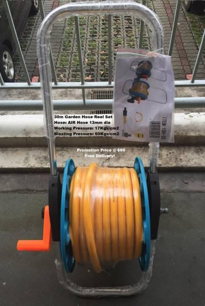 30m Garden Hose Reel Set - Brand New! • Singapore Classifieds