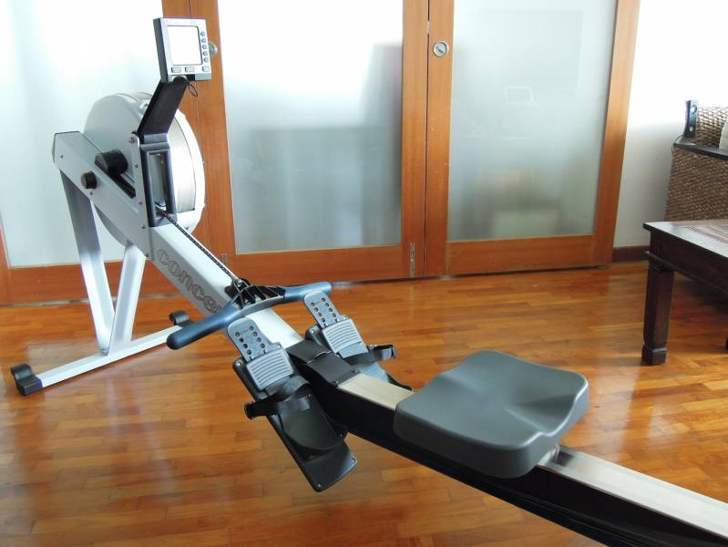 concept 2 model d rowing machine with pm3 monitor. Black Bedroom Furniture Sets. Home Design Ideas
