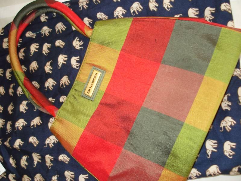 Jim Thompson silk handbags for sale • Singapore Classifieds