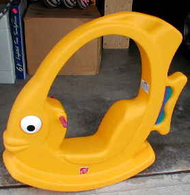 Step 2 toddler angel fish rocker singapore classifieds for Step 2 rocking fish