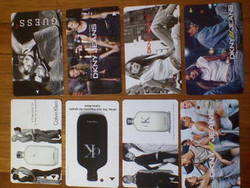 Collectable Used Phone Cards and Transitlink Cards • Singapore