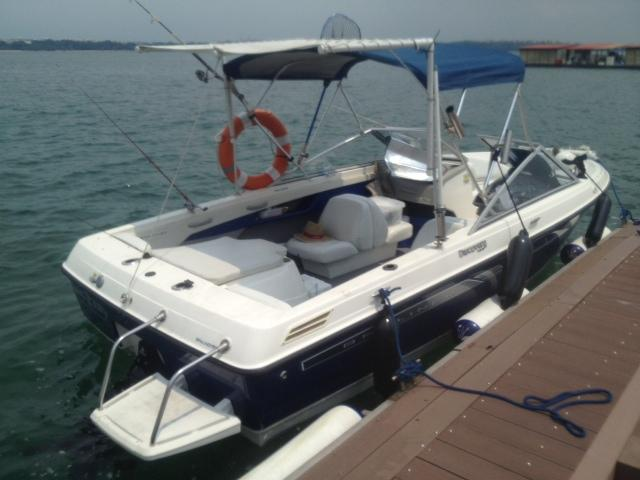 BEAUTIFUL POWER PLEASURE CRAFT BOAT FOR SALE, BAYLINER DISCOVERY 195  CRUSING FISHING